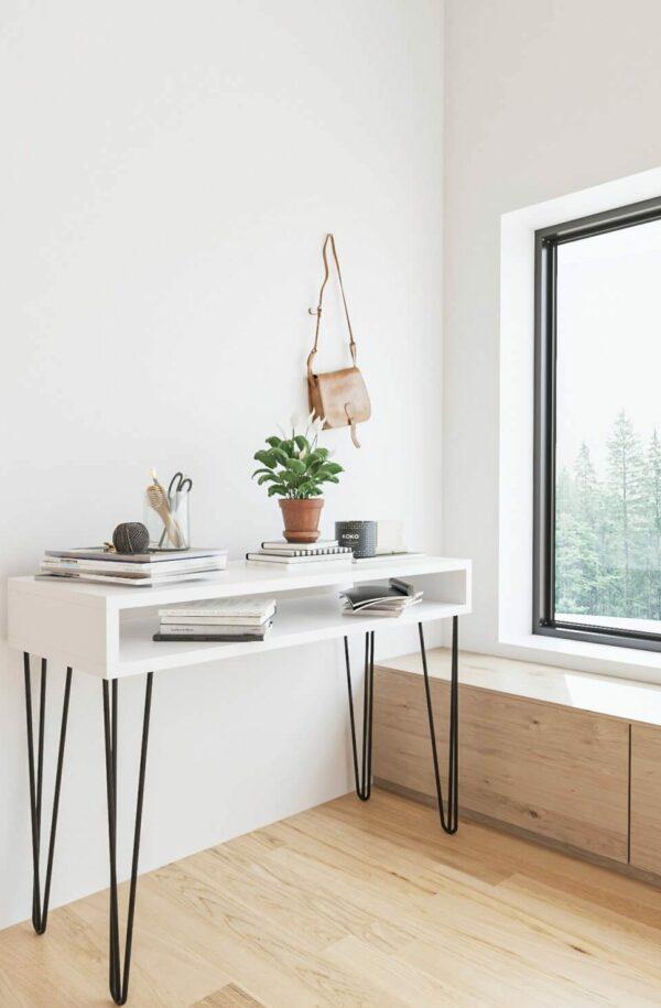 Wood House Aleyna Dresuar – Beyaz Fiyatı
