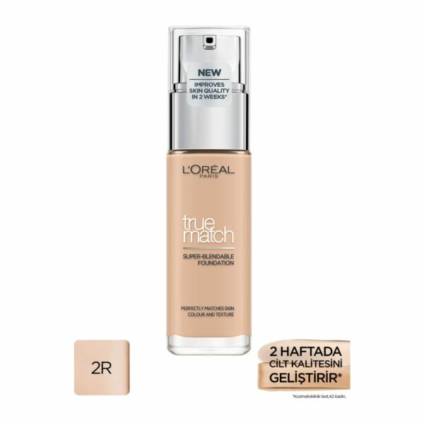 L'Oréal Paris True Match Bakım Yapan Fondöten 2R ROSE VANILLA Fiyatı