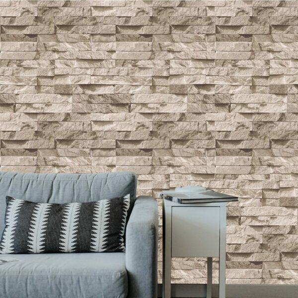 Zümrüt Taş Desenli Duvar Kağıdı Fiyat