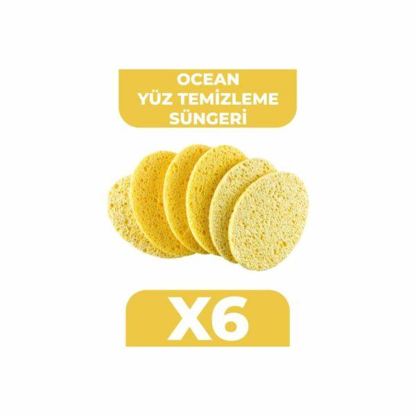 Ocean Yüz Temizleme Süngeri [6 Adet] Fiyatı