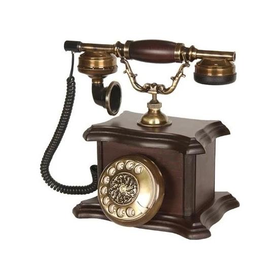 Anna Bell Konak Ceviz Ahşap Telefon Fiyatı