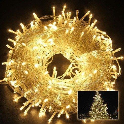 Pandoli Beyaz Kablolu 100 Ampüllü Led Işık Sarı Renk 10 Metre Fiyatı