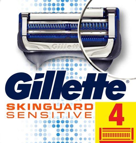 Gillette Skinguard Yedek Tıraş Bıçağı 4'lü Fiyatı