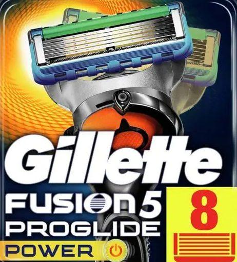 Gillette Fusion ProGlide Power 8'li Yedek Tıraş Bıçağı Karton Paket Fiyatı