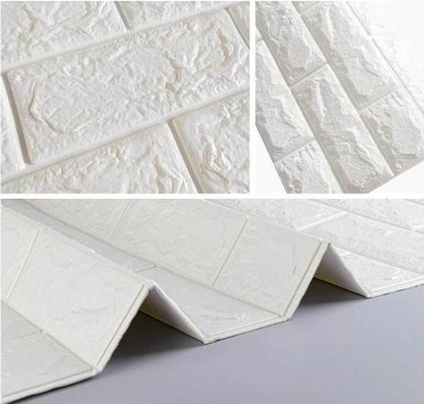 Renkli Duvarlar Çıkart & Yapıştır Kendinden Yapışkanlı 3D Esnek Duvar Kaplama Paneli 1 Adet Fiyatı