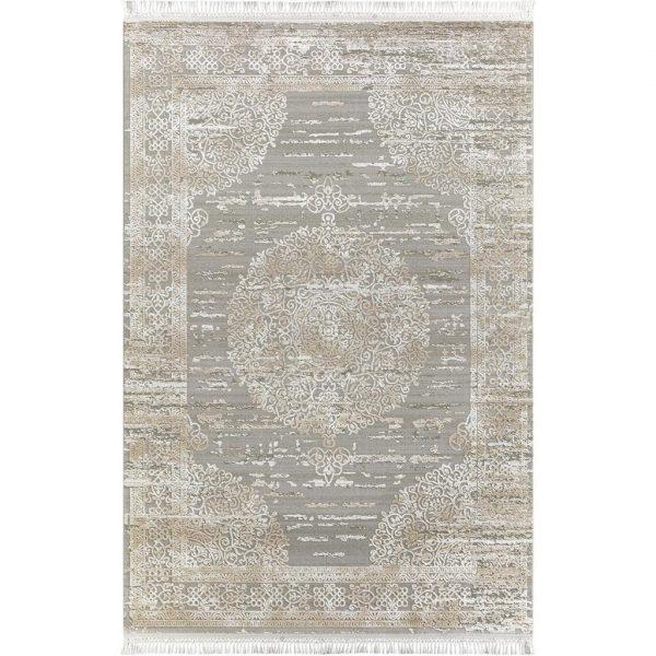 Flora Halı İnci 1583 A Grej 160×230 3,68 m2 Salon Halısı Salon Halısı Fiyatı